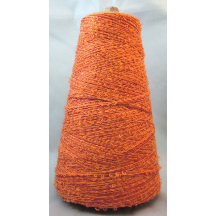 Example of a Bouclé Yarn Cone