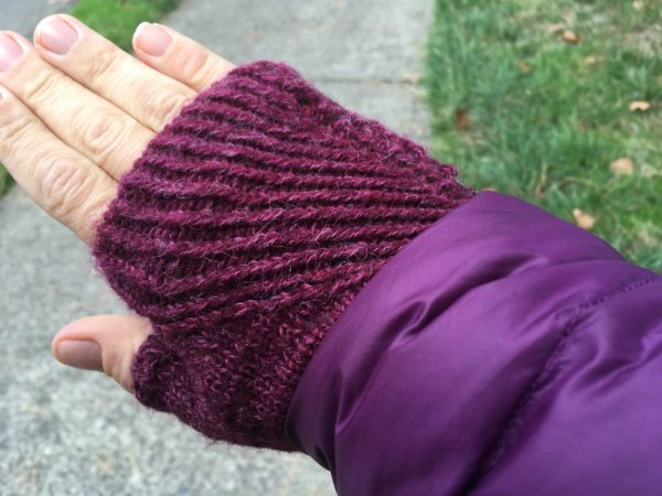 Straightforward Mitts Yarn