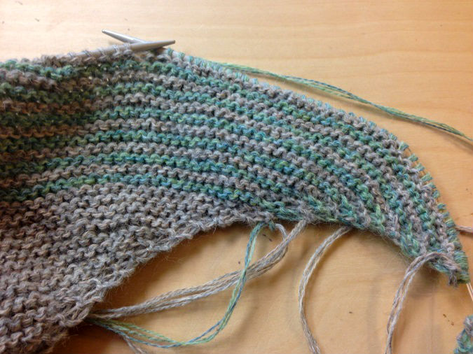 m1l knitting increase steps