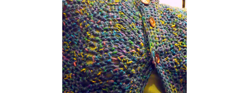 Finished Project :: Chevron Lace Cardigan