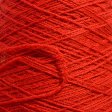 Fire Engine Red Wool