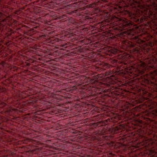 Heathered Deep Red Alpaca