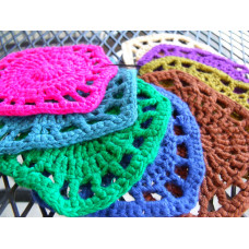 Bamboo Crocheted Coaster Kits