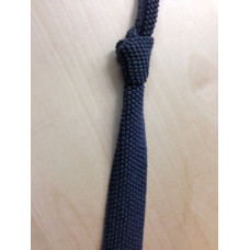 Knitted Seed Stitch Necktie