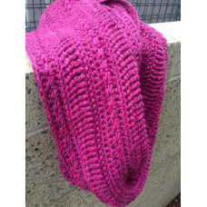 Crocheted Star Cowl