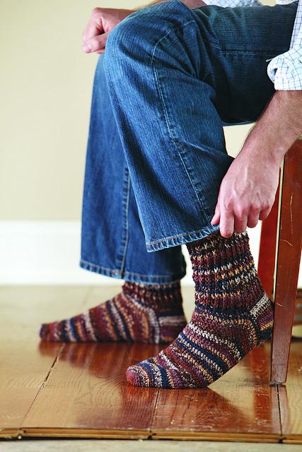 Ribbed Cuff Socks