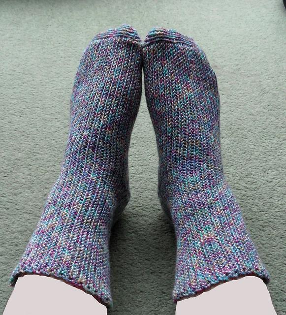 Stretchy Crochet Socks